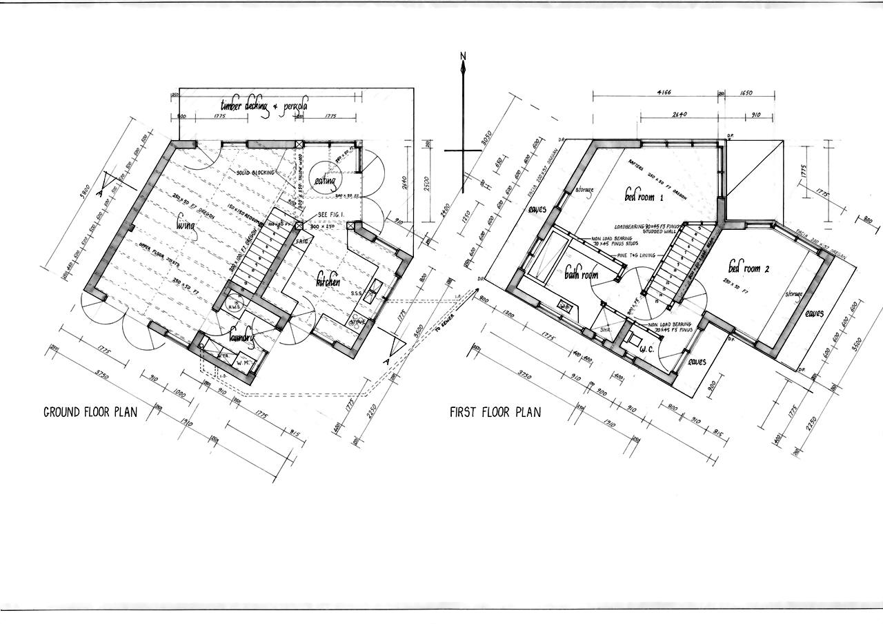 Passive solar and earth building design for Earthen home designs